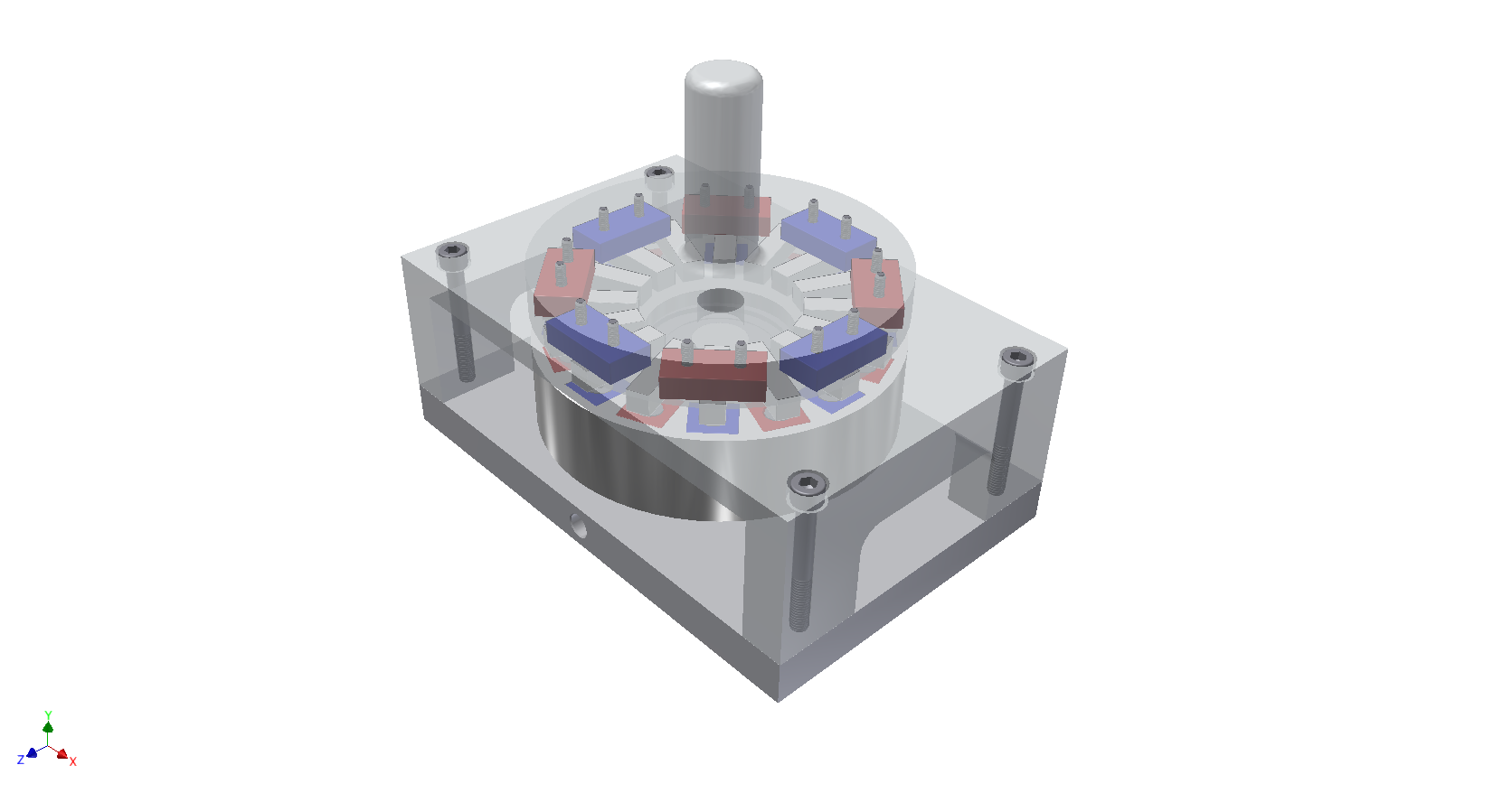 Magnetic Reduction Coupling