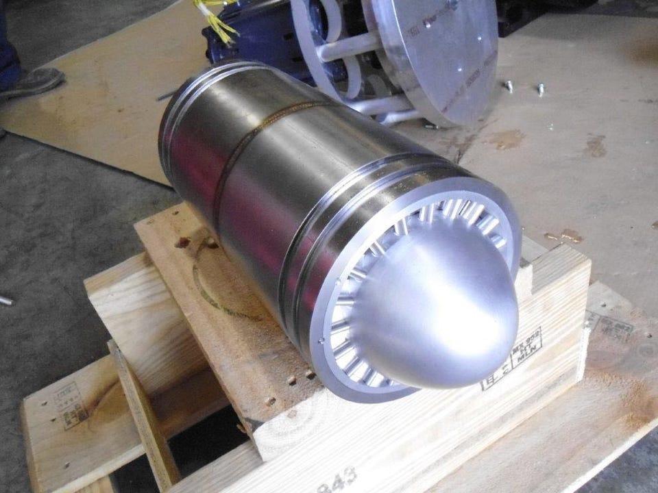 Infinity Turbine axial turbine