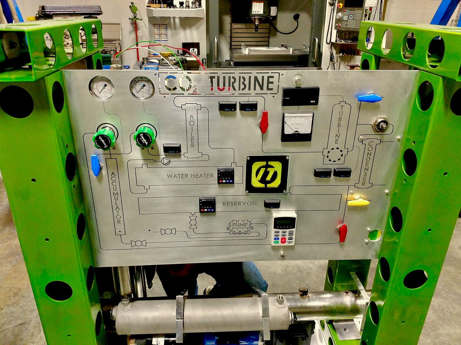 Supercritical CO2 Phase Change Demonstrator and Experimental Platform