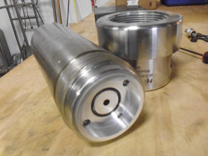 CO2 High Pressure Filter Assembly for Installing Miniature Turbine, Solid State Turbine, Nafion pellets, Nafion tubing, or Nafion membrane