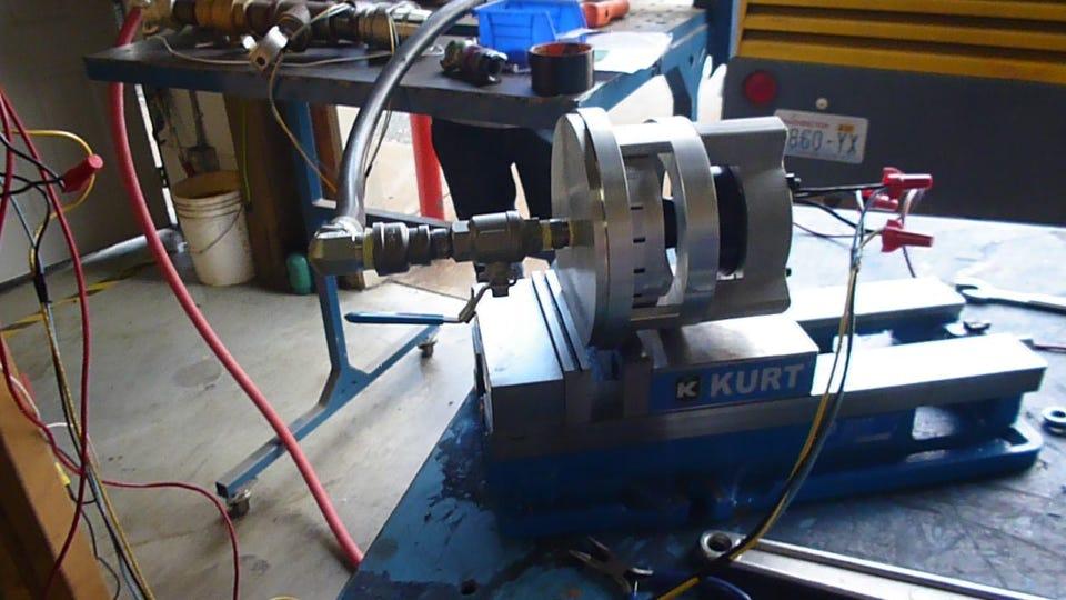 ROT06 Turbine Air Testing