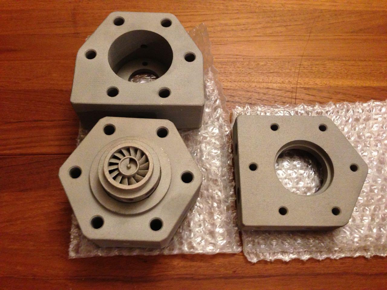 Supercritical CO2 Turbine Generator 3D Metal Printed Kit