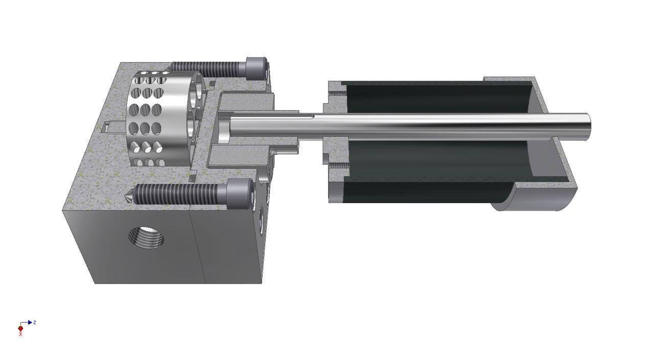 Infinity Turbine Coni turbine with common shaft feed pump and cavitation pump