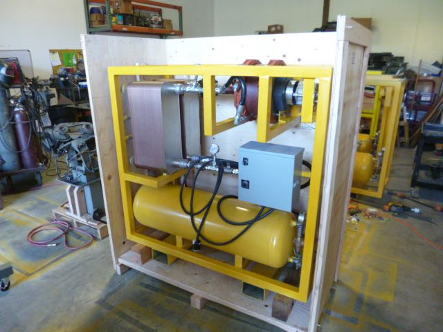 IT10 kW System Turbine Crated