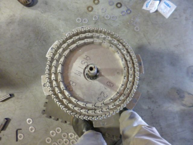 ROT24 Waterjet 2D Version Parts Assembly