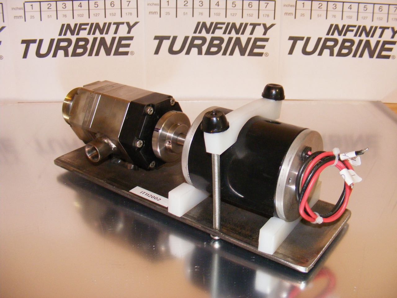 Infinity Turbine ITmini tubine generator with magnetic coupling