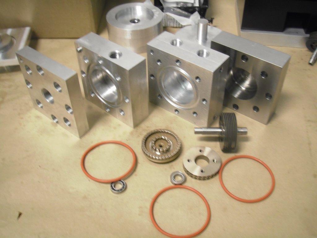 Infinity Turbine ITmini tubine generator with magnetic coupling kit