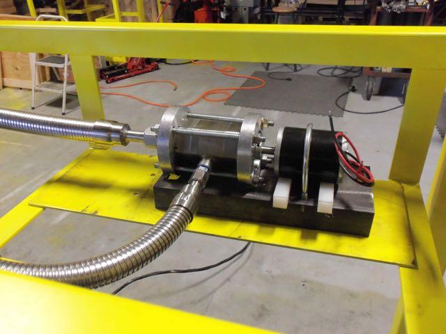 Infinity Turbine Liquid Nitrogen Pump for On-Demand Industrial Gas Production
