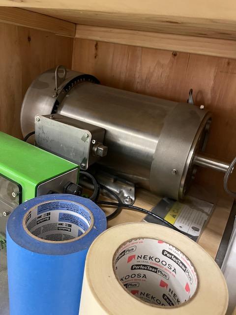 Surplus 10 HP Motor