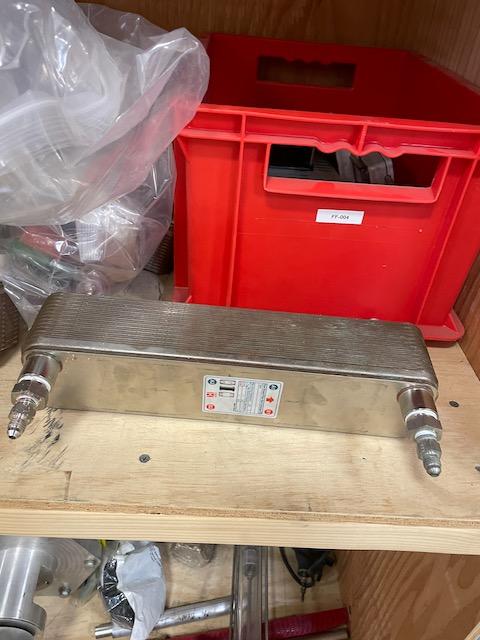Surplus CO2 Heat Exchanger