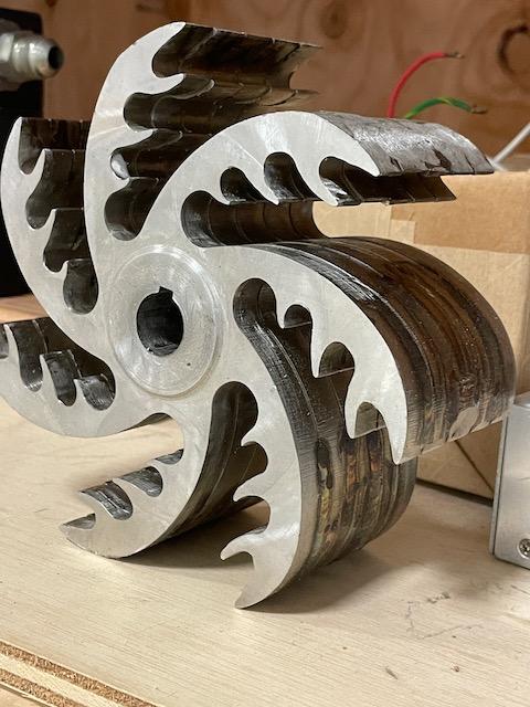 Surplus IT10 Experimental Rotor Design